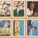 1993 Topps Gold Insert Kansas City Royals Team Lot 17 Mark Gubicza Tom Gordon Kevin McReynolds