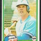 Toronto Blue Jays Barry Bonnell 1981 Topps Baseball Card 558 nr mt