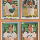 1981-1984 Donruss Chicago White Sox Team Lot 23 Harold Baines Jerry Koosman Lamarr Hoyt