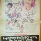 Boston Red Sox Tom Brunansky 1991 Boston Herald Poster