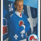Quebec Nordiques Mats Sundin RC Rookie Card 1990 Upper Deck Hockey Card 365