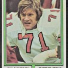 St Louis Cardinals John Richardson 1974 Topps Football Card 312 ex/em