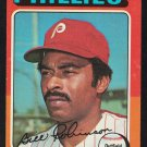 Philadelphia Phillies Bill Robinson 1975 Topps Baseball Card 501 vg/ex