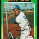 Montreal Expos Pepe Frias 1975 Topps Baseball Card 496 ex