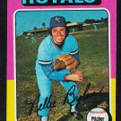 Kansas City Royals Nelson Briles 1975 Topps Baseball Card 495 vg/ex