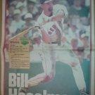 1995 Boston Red Sox Bill Haselman Boston Globe Fenway Favorites Poster