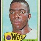New York Mets Johnny Lewis 1965 Topps Baseball Card 277 g/vg