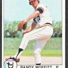 San Francisco Giants Randy Moffitt 1979 Topps Baseball Card 62 nr mt