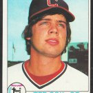 Cleveland Indians Ted Cox 1979 Topps Baseball Card 79 nr mt