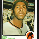Houston Astros Don Wilson 1973 Topps Baseball Card 217