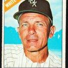 Chicago White Sox Eddie Stanky 1966 Topps Baseball Card 448 vg/ex