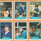 1982 Fleer Chicago White Sox Team Set 25 Carlton Fisk Harold Baines Greg Luzinski Chet Lemon