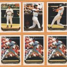 1993 Topps Gold Insert San Diego Padres Team Lot 26 Fred McGriff Gary Sheffield Bruce Hurst