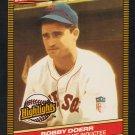 Boston Red Sox Bobb Doerr 1986 Donruss Highlights Baseball Card 32