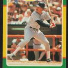Boston Red Sox Wade Boggs 1986 Fleer Limited Edition Baseball Card 4