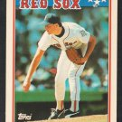 Boston Red Sox Roger Clemens 1988 Topps American Baseball Card 15