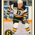Boston Bruins Ken Hodge 1991 O Pee Chee Premiere OPC Original 6 154 nr mt