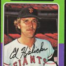 San Francisco Giants Ed Halicki 1975 Topps Baseball Card 467 vg