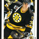 Boston Bruins Don Sweeney 1992 Upper Deck Hockey Card 391