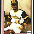 San Diego Padres Dave Cash 1981 Topps Baseball Card 707 nr mt