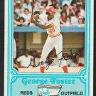 Cincinnati Reds George Foster 1981 Drakes Big Hitters Baseball Card 18 nr mt