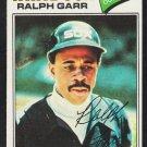 Chicago White Sox Ralph Garr 1977 Topps Baseball Card 133 ex
