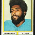 San Diego Chargers Bryant Salter 1974 Topps Football Card 338 ex mt