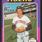 Detroit Tigers Luke Walker 1975 Topps Baseball Card 474 vg