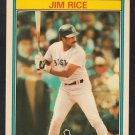 Boston Red Sox Jim Rice 1987 Kay Bee Super Stars of Baseball Card 26
