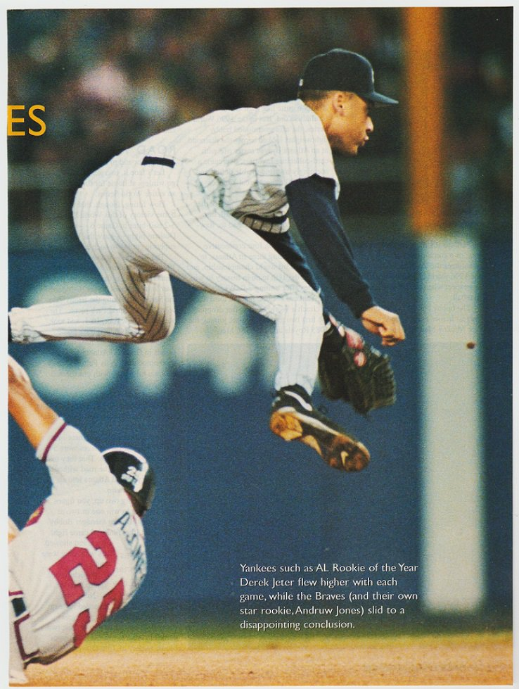 New York Yankees Derek Jeter 1997 Pinup Photo 8x10