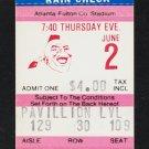 St Louis Cardinals Atlanta Braves 1983 Ticket Bob Horner Chris Chambliss HR Ozzie Smith