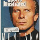 1990 Sports Illustrated 49ers Joe Montana San Diego Padres Arena Football Pan Am Games Boxing