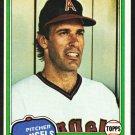 California Angels Jim Barr 1981 Topps Baseball Card 717 nr mt