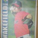 Boston Red Sox Tim Wakefield 2004 Boston Herald Poster