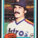 Houston Astros Frank LaCorte 1981 Topps Baseball Card 513 nr mt