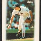 Boston Red Sox Roger Clemens 1988 Topps Mini League Leader Baseball Card 2 nr mt