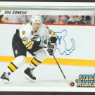 Boston Bruins Joe Juneau Star Rookie 1992 Upper Deck Hockey Card 399