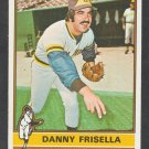 San Diego Padres Danny Frisella 1976 Topps Baseball Card 32 ex