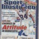 2002 Sports Illustrated NFL Preview Minnesota Vikings Oakland Athletics Little League