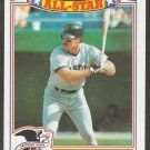 Boston Red Sox Wade Boggs 1989 Topps Glossy All Star Insert Baseball Card 4 nr mt