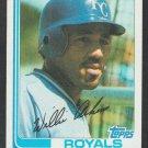 Kansas City Royals Willie Aikens 1982 Topps Baseball Card 35 nr mt