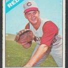 Cincinnati Reds Bill McCool 1966 Topps Baseball Card 459 vg/ex