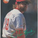 Philadelphia Phillies John Kruk 1993 Pinup Photo 8x10
