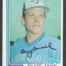 Toronto Blue Jays Barry Bonnell 1982 Topps Baseball Card 99 nr mt