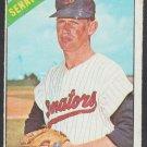 Washington Senators Jim Hannan 1966 Topps Baseball Card 479 g/vg