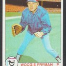 Montreal Expos Woodie Fryman 1979 Topps Baseball Card 269 nr mt
