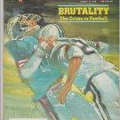 1978 Sports Illustrated NFL Brutality Los Angeles Dodgers San Francisco Giants Kansas City Royals
