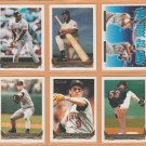 1993 Topps Gold Insert Minnesota Twins Team Lot Kirby Puckett Chili Davis Scott Erickson Gene Larkin