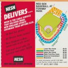 Boston Red Sox 1985 Pocket Schedule Mike Easler Catch Fenway Fever NESN Variation