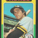 San Diego Padres Dave Hilton 1975 Topps Baseball Card 509 vg